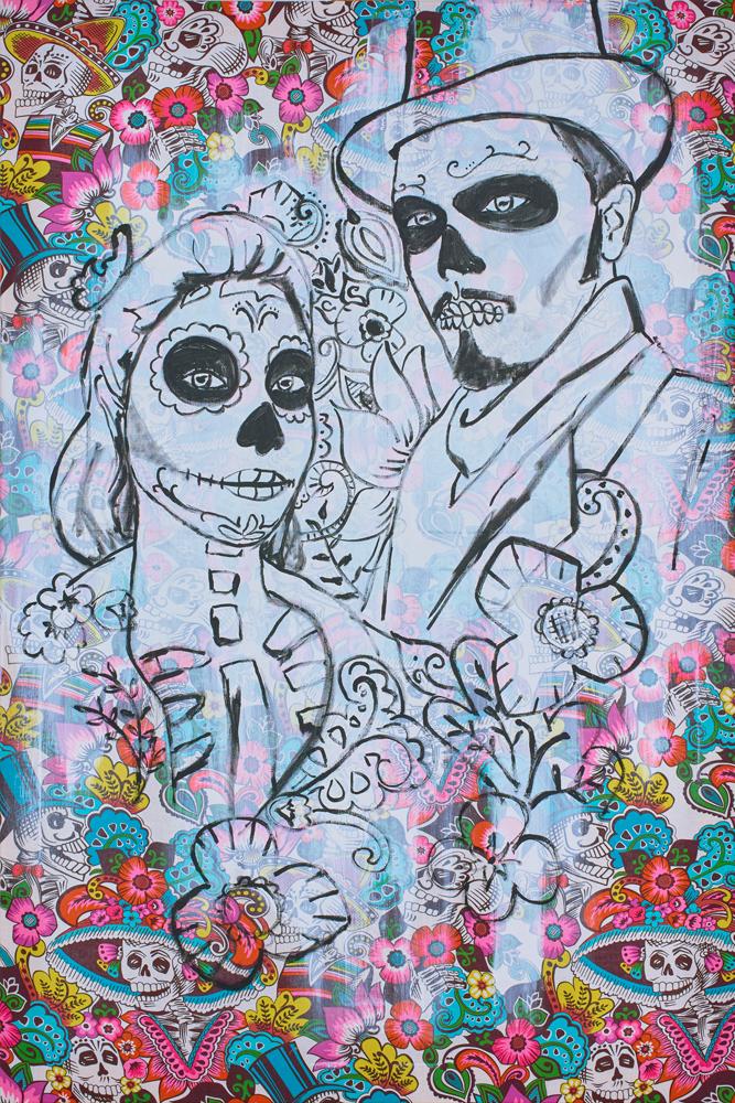 2016: Muerte 80x120cm
